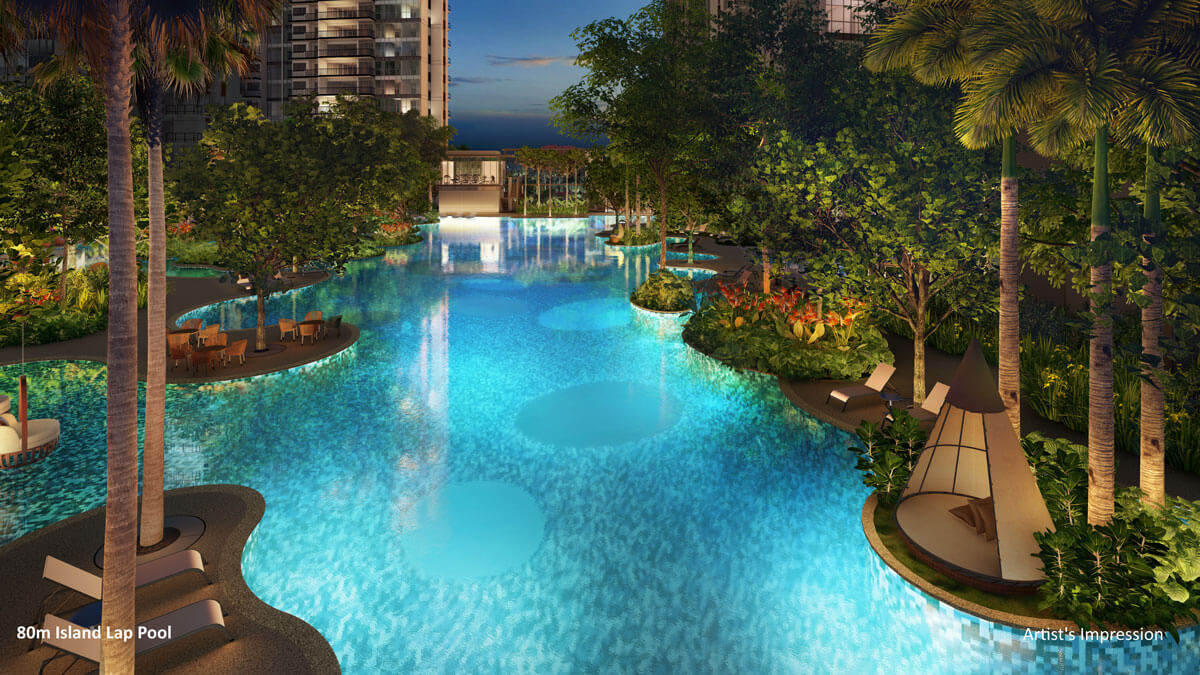 florence_residences_condo_island_pool_evening